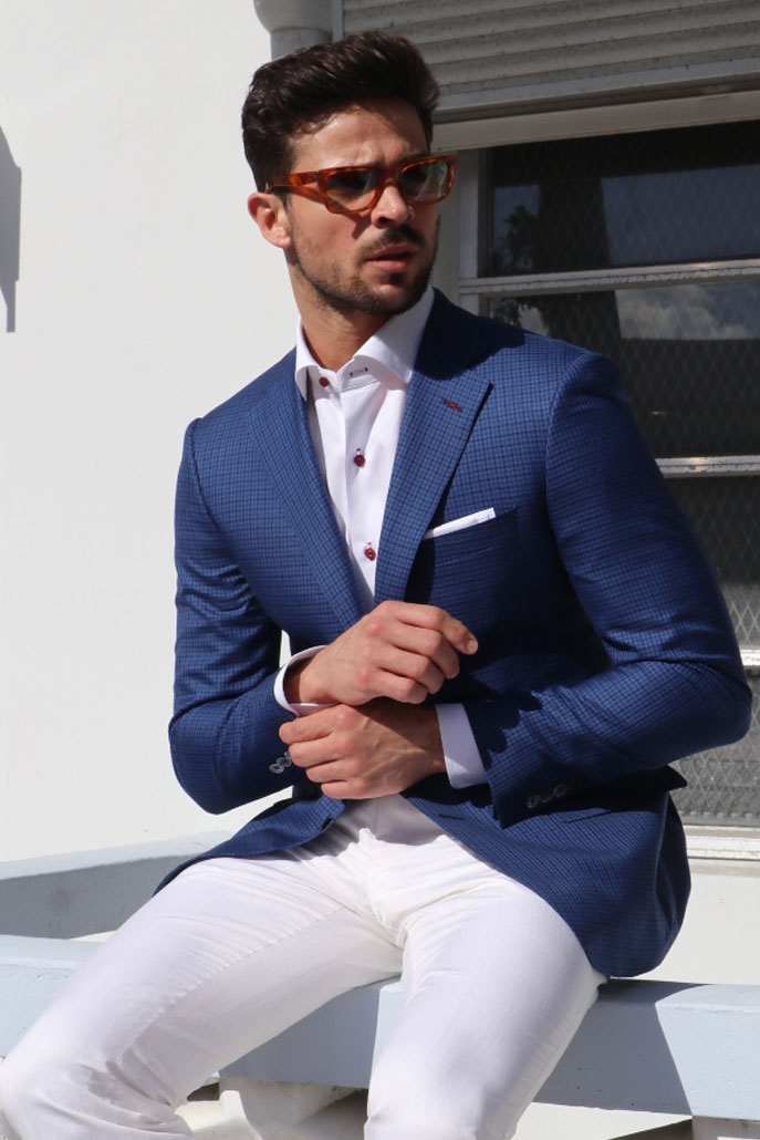 Mens Custom Suits - Pepi Bertini